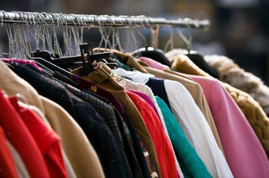 2e7fb704 Hvordan å selge brukte klær. Forskning de brukte klær butikker i ditt  område.